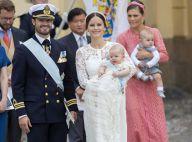 Baptême du prince Alexander: Un bébé tout heureux en famille, ses cousins agités