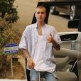 Justin Bieber fait la fête avec des amis à Malibu, le 23 juillet 2016