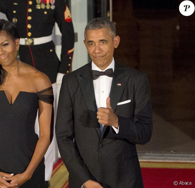 Michelle et Barack Obama à Washington, le 25 septembre 2015