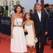 Fleur Pellerin avec sa fille Bérénice et son mari à Deauville pour un beau final