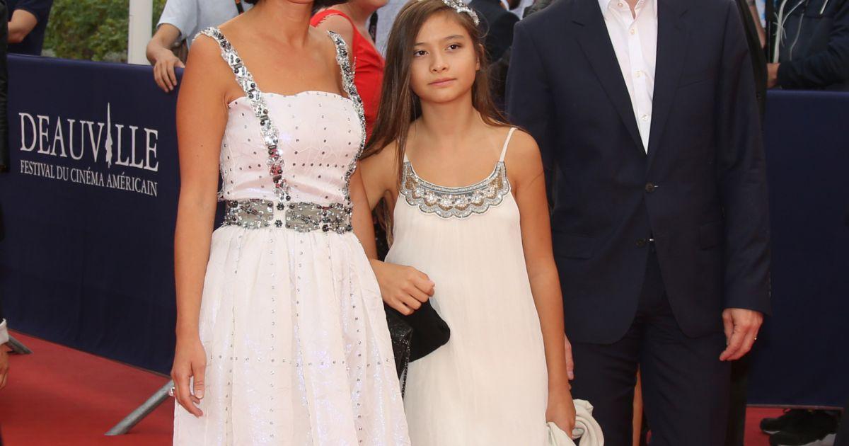 Fleur Pellerin Avec Sa Fille Berenice Et Son Mari A Deauville Pour