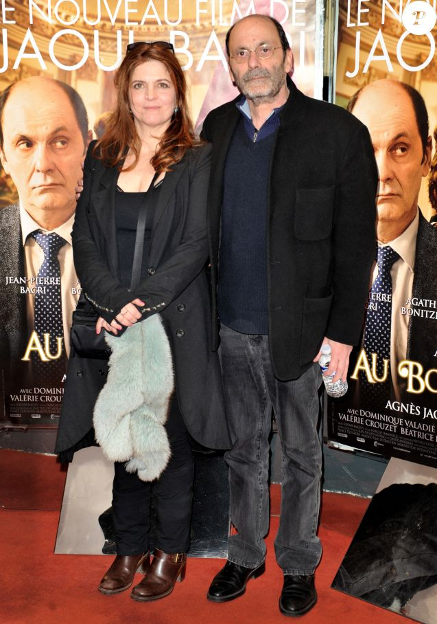 """Agnès Jaoui et Jean Pierre Bacri - Avant-première d'""""Au bout du conte"""" à Paris le 4 mars 2013"""