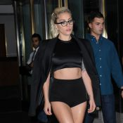 Lady Gaga : Sexy pour son instant Fashion Week