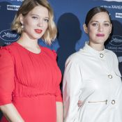 Léa Seydoux enceinte et Marion Cotillard, en beauté et complices pour Dolan