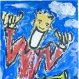 Oeuvres des artistes de l'album Les Grands Gamins, enregistré pour l'association Sol En SI