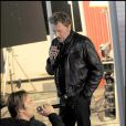 Johnny et David Hallyday