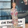 """Emily Blunt arrive à la première de """"The Girl on the Train"""" à Londres, Royaume Uni, le 20 septembre 2016."""