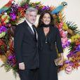 Sidney Toledano et sa femme Katia lors du Gala d'ouverture de l'Opéra National de Paris pour la saison 2016/2017, le 24 septembre 2016