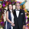 Le Professeur David Khayat et sa femme Jocelyne lors du Gala d'ouverture de l'Opéra National de Paris pour la saison 2016/2017, le 24 septembre 2016