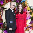 Jean-Marc Loubier et sa femme Hedieh lors du Gala d'ouverture de l'Opéra National de Paris pour la saison 2016/2017, le 24 septembre 2016