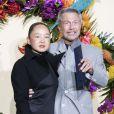 Jean-Paul Goude et sa femme Karen Park Goude lors du Gala d'ouverture de l'Opéra National de Paris pour la saison 2016/2017, le 24 septembre 2016