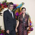 Etienne Li et sa compagne Blanca Li lors du Gala d'ouverture de l'Opéra National de Paris pour la saison 2016/2017, le 24 septembre 2016