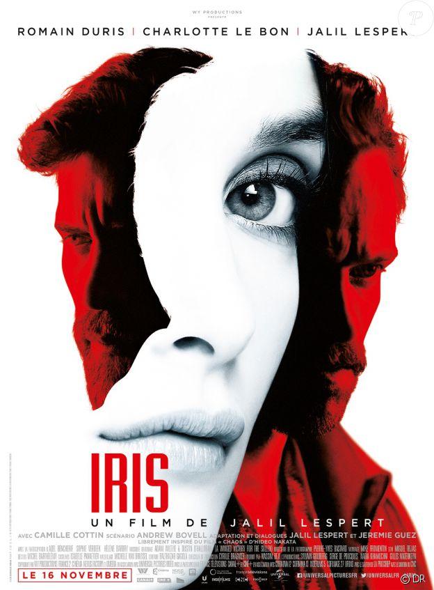 Affiche du film Iris, en salles le 16 novembre