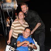 David Beckham : Charmeur et généreux avec ses admirateurs