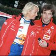 Sébastien Loeb et Séverine Mény