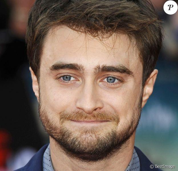 """Daniel Radcliffe aux premières de """"Swiss Army Man"""" et de """"Imperium"""" au Cineworld 02 Arena à Londres, le 23 septembre 2016."""