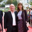 Gary Lewis et Kate Dickie - Soirée d'ouverture du 27ème Festival du film britannique de Dinard, le 29 septembre 2016.