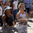 Terra Joleau Festival Amber Rose SlutWalk dans le quartier de downtown à Los Angeles, le 1er octobre 2016