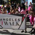 Amber Roseau Festival Amber Rose SlutWalk dans le quartier de downtown à Los Angeles, le 1er octobre 2016