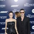 Angelina Jolie et Brad Pitt à la Première du film Maleficient à Los Angeles, le 29 mai 2014.