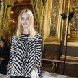 """Natalia Vodianova - People au défilé de mode prêt-à-porter printemps-été 2017 """"Stella McCartney"""" à Paris. Le 3 octobre 2016 © Olivier Borde / Bestimage  People at the S/S 2017 Stella McCartney fashion show in Paris. On october 3rd 201603/10/2016 - Paris"""