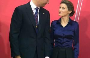 REPORTAGE PHOTOS : Letizia d'Espagne, la sublime princesse n'a d'yeux que pour son prince !