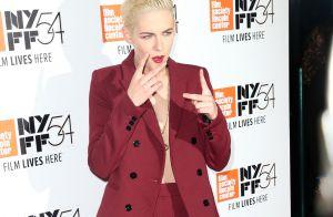 Kristen Stewart, sublime androgyne : Retour à la coupe garçonne et look sexy