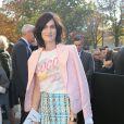 Clotilde Hesme-Défilé Chanel (collection prêt-à-porter printemps-été 2017) au Grand Palais. Paris, le 4 octobre 2016.© CVS-Veeren / Bestimage