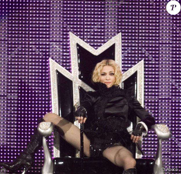 Madonna lors de son Sticky and Sweet tour