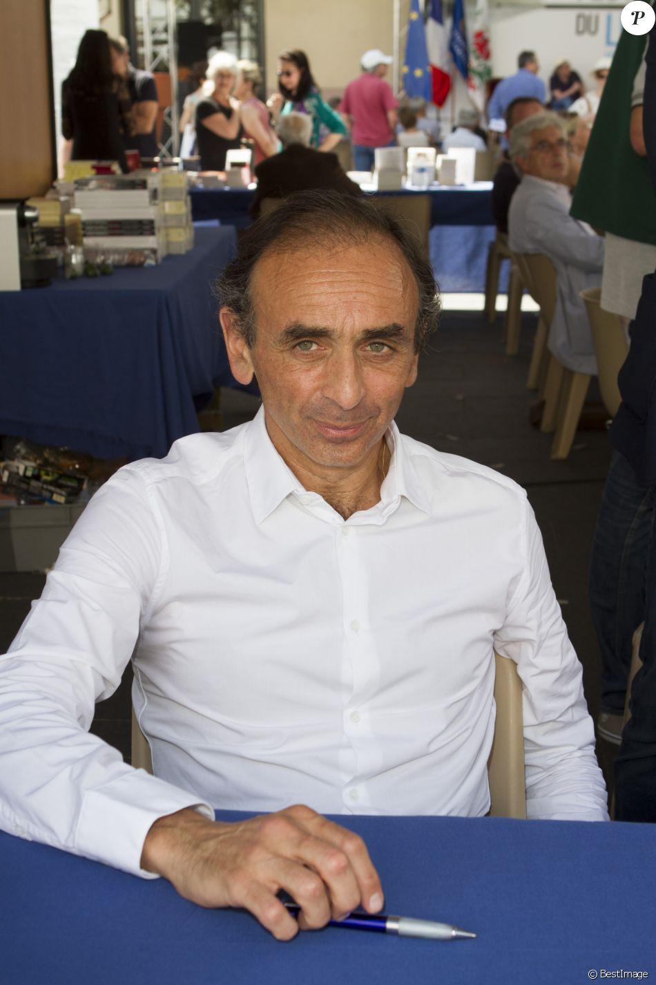 Eric Zemmour - Inauguration du Festival du Livre de Nice, le 5 juin 2015