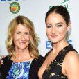 Laura Dern et Shailene Woodley à l'évènement Global Green Environmental Awards Honorees organisé à Los Angeles le 29 septembre 2016.