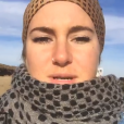 Shailene Woodley milite contre le  Dakota Access Pipeline le 10 octobre 2016.