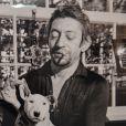 """Exposition """"Gainsbourg Intime"""" à l'occasion de la sortie en avant-première du livre """"Gainsbourg"""" à la galerie du Lucernaire à Paris le 10 octobre 2016. © Veeren/Bestimage"""