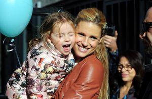 Michelle Hunziker célèbre avec émotion les 3 ans de sa fille et 2 ans de mariage