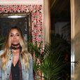 """Ciara au Backstage du défilé de mode """"Roberto Cavalli"""" Prêt à Porter collection printemps/été 2017 lors de la Fashion Week de Milan, Italie, le 21 septembre2016."""