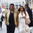 Russell Wilson et sa compagne Ciara sont allés faire du shopping à la boutique Burberry à Londres. Le 7 juillet 2016