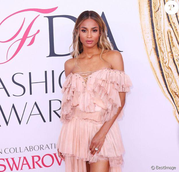 La chanteuse Ciara lors des CFDA Fashion Awards 2016 à New York, le 6 juin 2016.