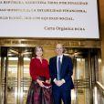 Federico Sturzenegger, président de la banque centrale d'Argentine - La reine Maxima des Pays-Bas rencontre le président de la banque centrale d'Argentine à Buenos Aires le 12 octobre 2016. 12/10/2016 - Buenos Aires