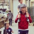 L'adorable famille Rooney.