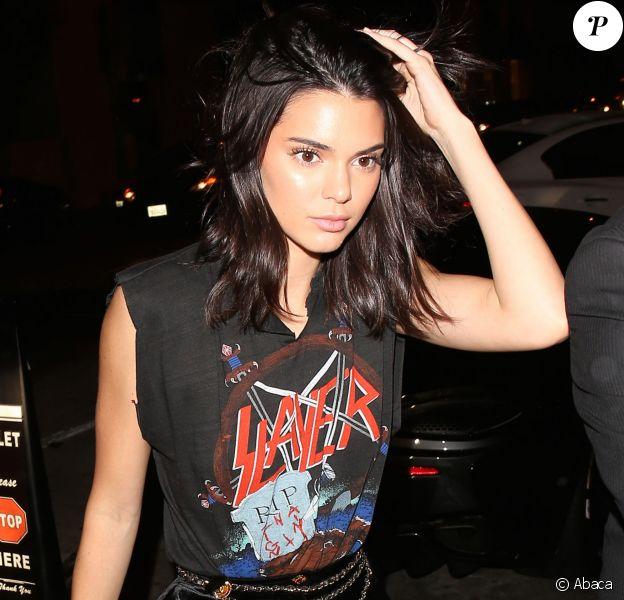 Kendall Jenner se rend au restaurant Catch de Beverly Hills le 13 octobre 2016.