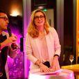 Julie Gayet lors de la soirée caritative à l'occasion du mois Octobre Rose, le 14 octobre 2016, au Château Roubine à Lorgues