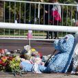 Attentat de Nice : Journée d'hommage national 3 mois après l'attentat qui avait couté la vie à 86 personnes sur la Promenade des Anglais à Nice le 15 octobre 2016.