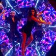 """Karine Ferri et Yann-Alrick Mortreuil - """"Danse avec les stars 7"""" sur TF1. Le 15 octobre 2016."""