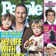Kevin Federline, Jayden James et Sean Preston, en couverture de People magazine