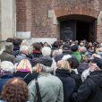 Les funérailles du réalisateur polonais Andrzej Wajda à Cracovie le 19 octobre 2016