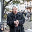 Bogdan Borusewicz -Les funérailles du réalisateur polonais Andrzej Wajda à Cracovie le 19 octobre 2016