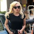 Lady Gaga à New York le 17 août 2016.