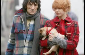 PHOTOS : Entre Ronnie Wood et sa jeune amie, ça se précise sévère !