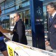 Le prince Albert II de Monaco aux Championnats du monde d'aviron de mer à Monaco le 21 octobre 2016. © Claudia Albuquerque/Bestimage