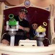 Blac Chyna a publié une photo de son fils King Cairo et son fiancé Rob Kardashian sur Instagram, le 24 octobre 2016
